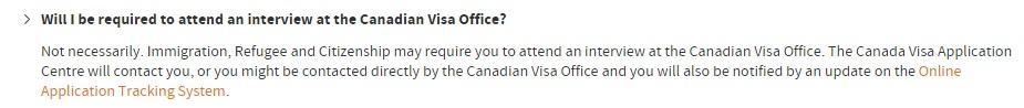 Du học Canada có cần phỏng vấn không?