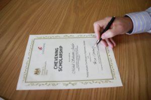 Chevening – học bổng toàn cầu của chính phủ Anh