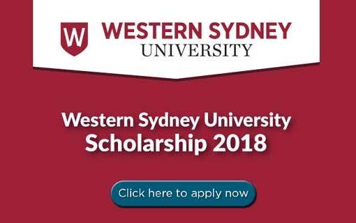 Học bổng đại học Western Sydney