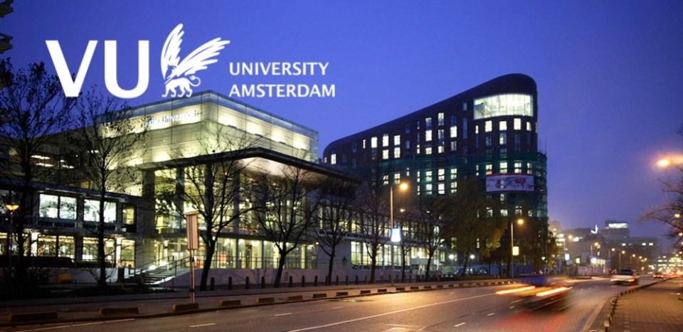 Du học Hà Lan: Học bổng trị giá 100% học phí đến từ trường Vrije University Amsterdam